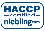Niebling HACCP logo